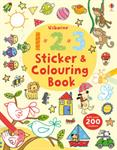 Picture of 123 Sticker and Colouring Book