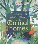 Picture of Usborne Peep Inside Animal Hom