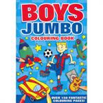 Picture of Boys Jumbo Colouring Book P/b