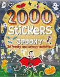 Picture of 2000 Spooky Stickers.