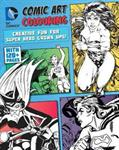 Picture of DC Comic Art Colouring Book Wonder Woman & Friends