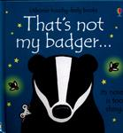 Picture of Thats Not My Badger Board Book