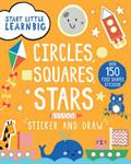 Picture of Draw Circles  Squares  Stars Sticker Book