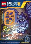 Picture of Lego Nexo Knights Clash  Boom  Bang Activity Book