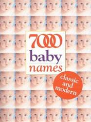Picture of 7000 Baby Names