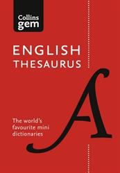 Picture of English thesaurus