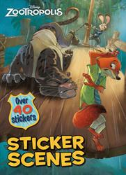 Picture of Disney Zootropolis Sticker Sce