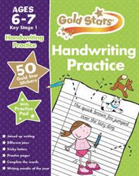 Picture of Gold Stars Handwriting Practic