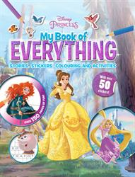 Picture of My Book of Everything  Disney Princess