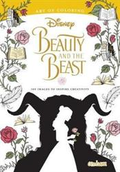 Picture of Disney Movie Beauty And The Beast Deluxe Colouring Book