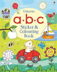 Picture of ABC Sticker And Colouring Book