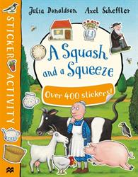 Picture of A Squash And A Squeeze Sticker Book