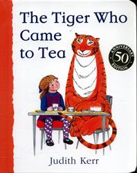 Picture of Tiger Who Came To Tea Boardbook
