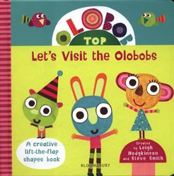 Picture of Olobob Top Lets Visit The Olobobs Board Book