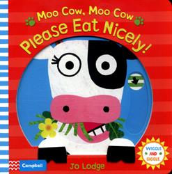 Picture of Moo Cow Moo Cow Please Eat Nicely Board Book