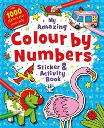 Picture of My Amazing Colour by Numbers Sticker and Activity Book