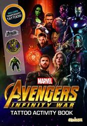 Picture of Avengers Infinity War Tattoo Book