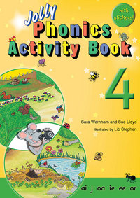 Picture of Jolly Phonics Activity Book 4