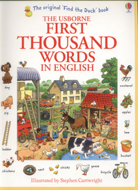 Picture of The Usborne First Thousand Words in English