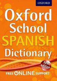 Picture of Oxford School Spanish Dictiona