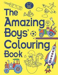 Picture of The Amazing Boys Colouring Bo