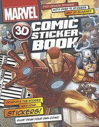 Picture of Marvel 3d Comic Sticker Book