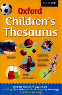 Picture of Oxford childrens thesaurus