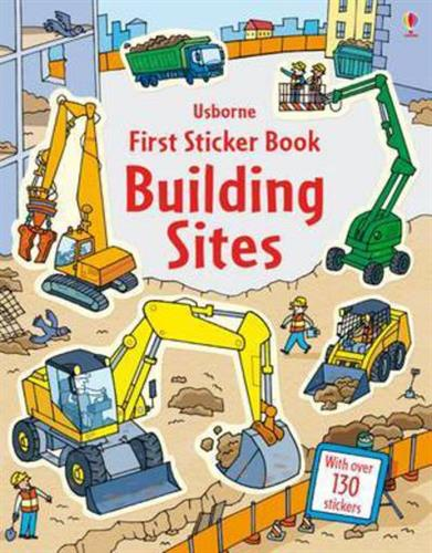 Picture of First Sticker Book Building Si