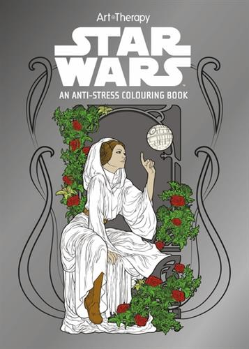 Picture of Star Wars Art Therapy Colourin