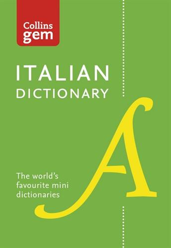 Picture of Italian dictionary