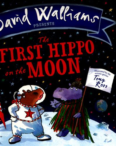 Picture of The first hippo on the moon