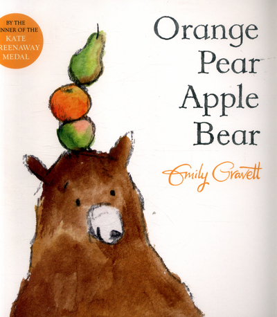 Picture of Orange pear apple bear