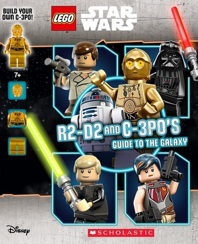 Picture of LEGO STAR WARS R2-D2 And C-3P0s Guide to the Galaxy (With Mi