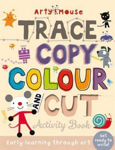 Picture of Arty Mouse Bumper Activity Trace Copy Colour And Cut   (F