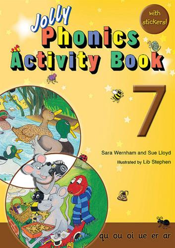 Picture of Jolly Phonics Activity Book  7