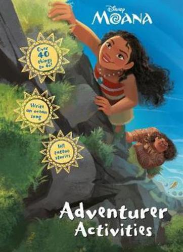 Picture of Disney Moana Adventurer Activities Activity Book