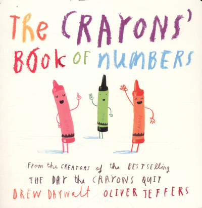 Picture of Crayons Book Of Numbers Board Book
