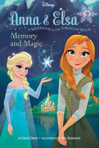 Picture of Disney Frozen Anna & Elsa Book 2 Memory And Magic Chapter Bo