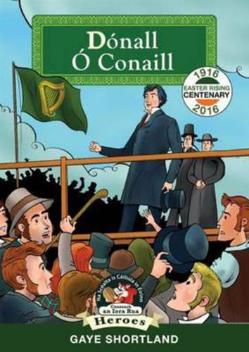 Picture of Daniel O Connell as Gaeilge