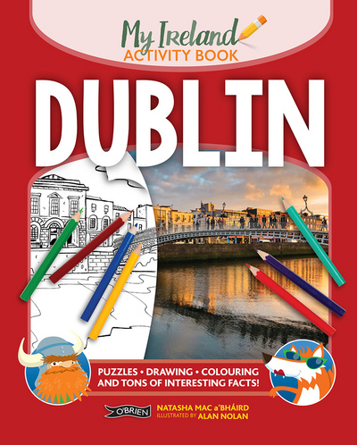 Picture of Dublin My Ireland Activity Book