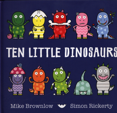 Picture of Ten Little Dinosaurs Board Book