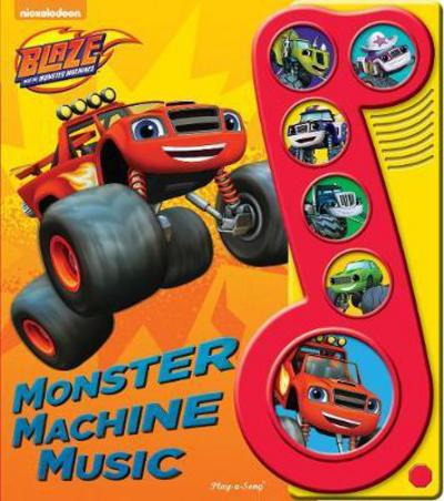 Picture of Blaze & The Monster Machines Little Music Note Book 6 Button