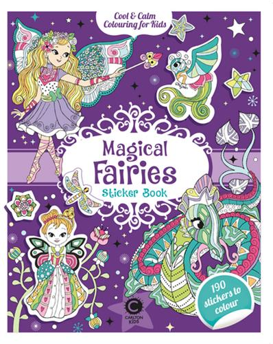 Picture of Cool & Calm Colouring Magical Fairies Sticker Book