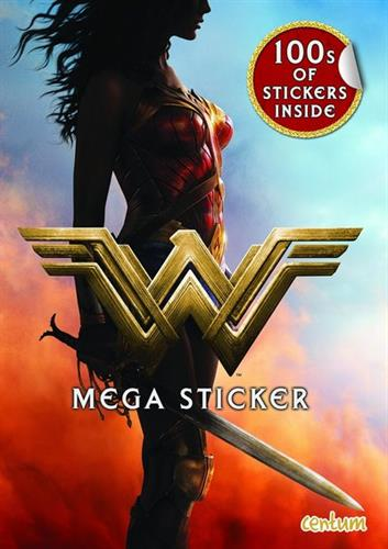 Picture of Wonder Woman Mega Sticker Book