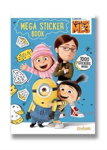 Picture of Despicable Me 3 Mega Sticker Book