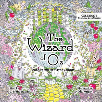 Picture of Wizard of Oz Colouring In & Story Book