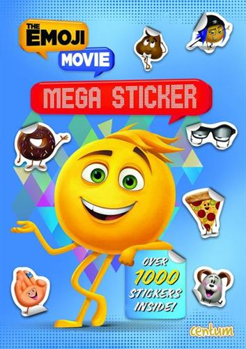 Picture of Express Yourself  Emoji Movie Mega Sticker Book