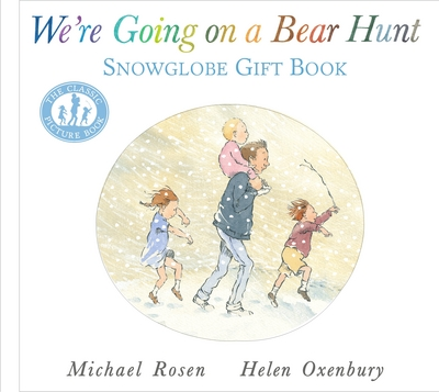 Picture of We are Going On A Bear Hunt Snowglobe Gift Book