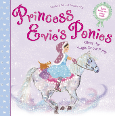 Picture of Princess Evies Ponies Silver The Magic Snow Pony