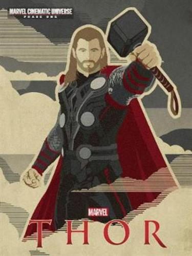 Picture of Novel Marvel Thor